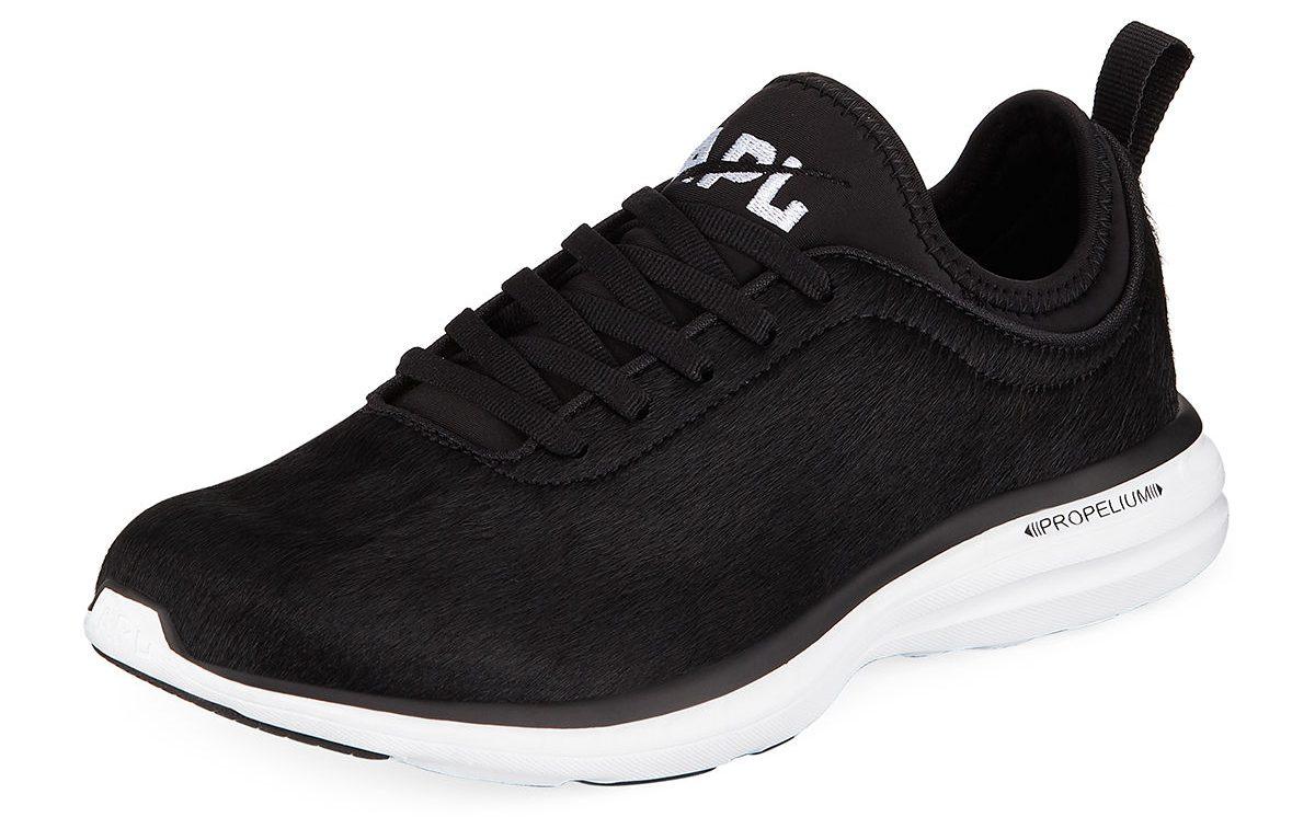 apl sneakers calf hair