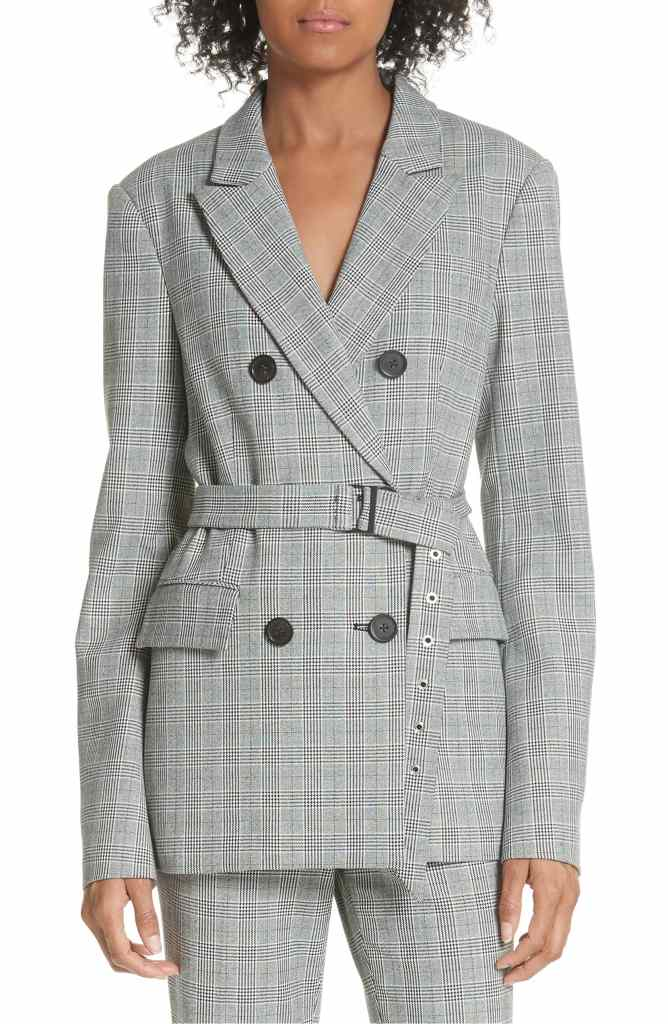plaid blazer on sale at nordstrom