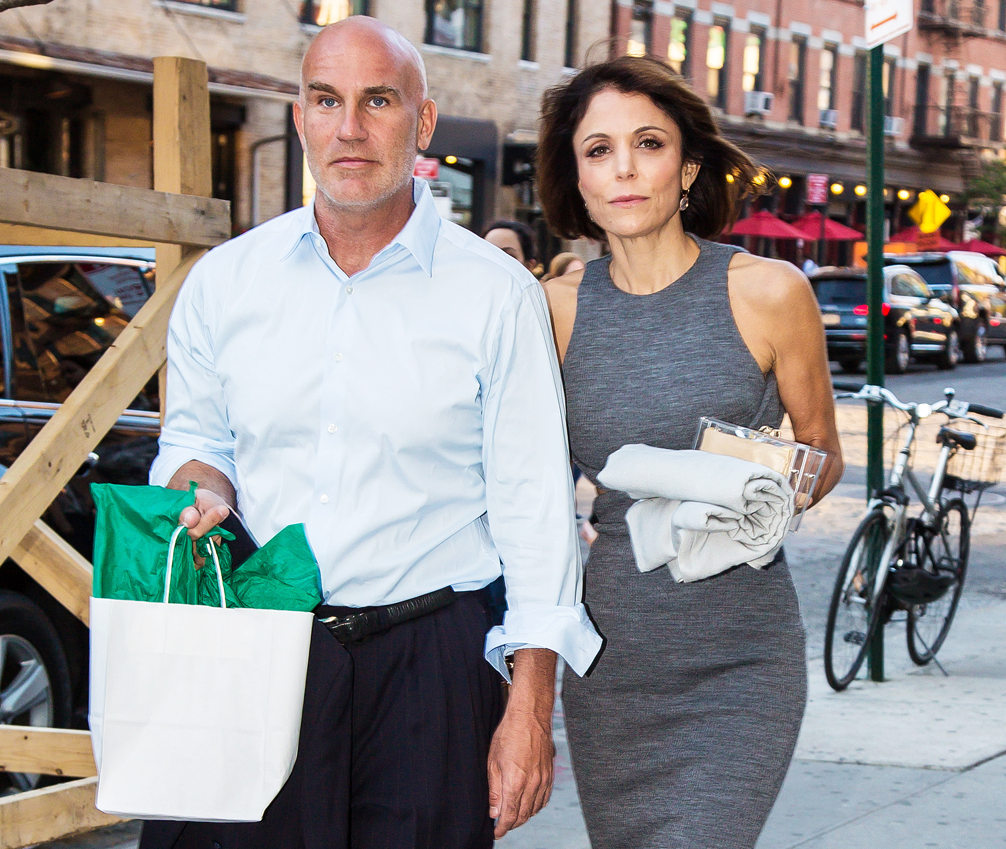 Bethenny Frankel Dennis Shields Real Housewives of New York Reunion