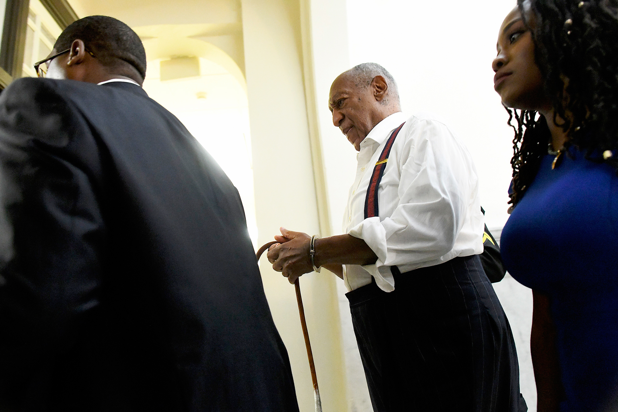Bill Cosby Handcuffs Immediately Transported To State Prison