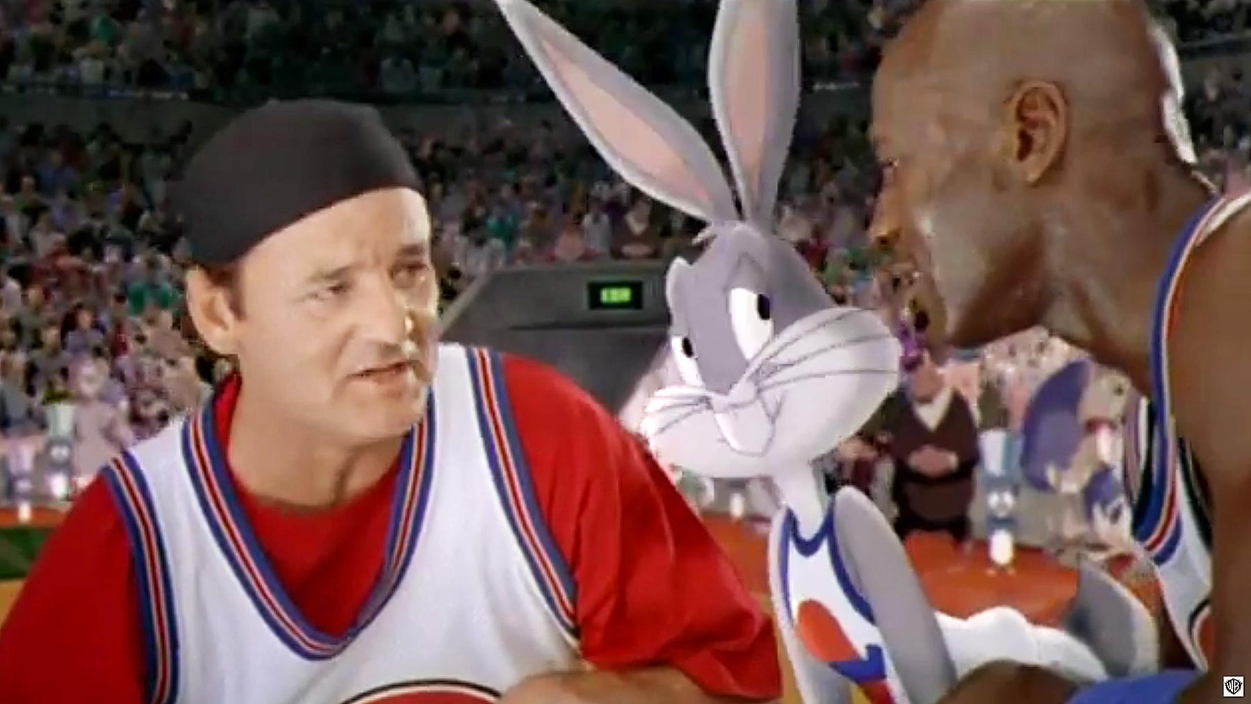 Bill Murray Bugs Bunny Michael Jordan Space Jam