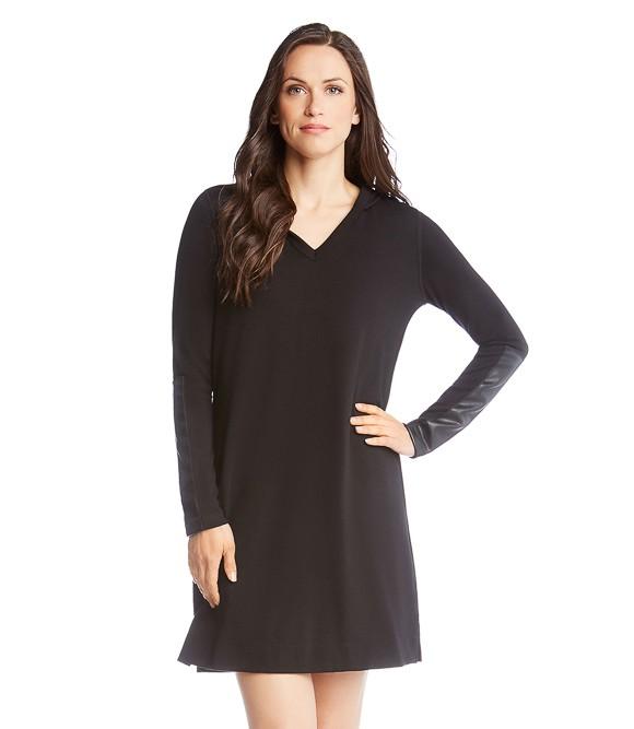 96000c07f0 Drop the Karen Kane Hoodie Dress into your closet for a cozy