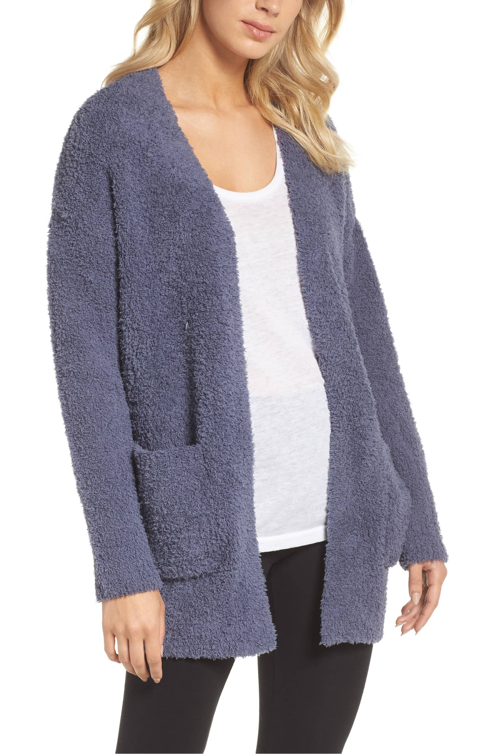 Stay Cozy In This Oversized Barefoot Dreams Cardigan