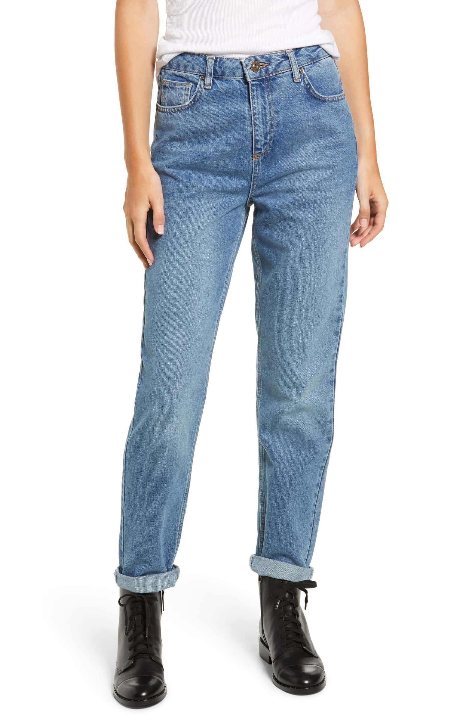 blue mom jeans urban outfitters bdg nordstrom