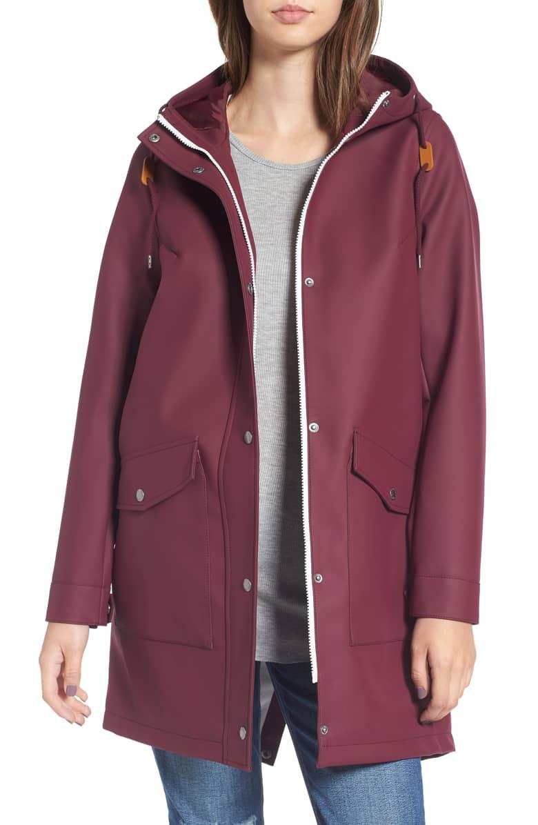 levis rain coat