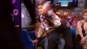 cardi b throws shoe before nicki minaj fight