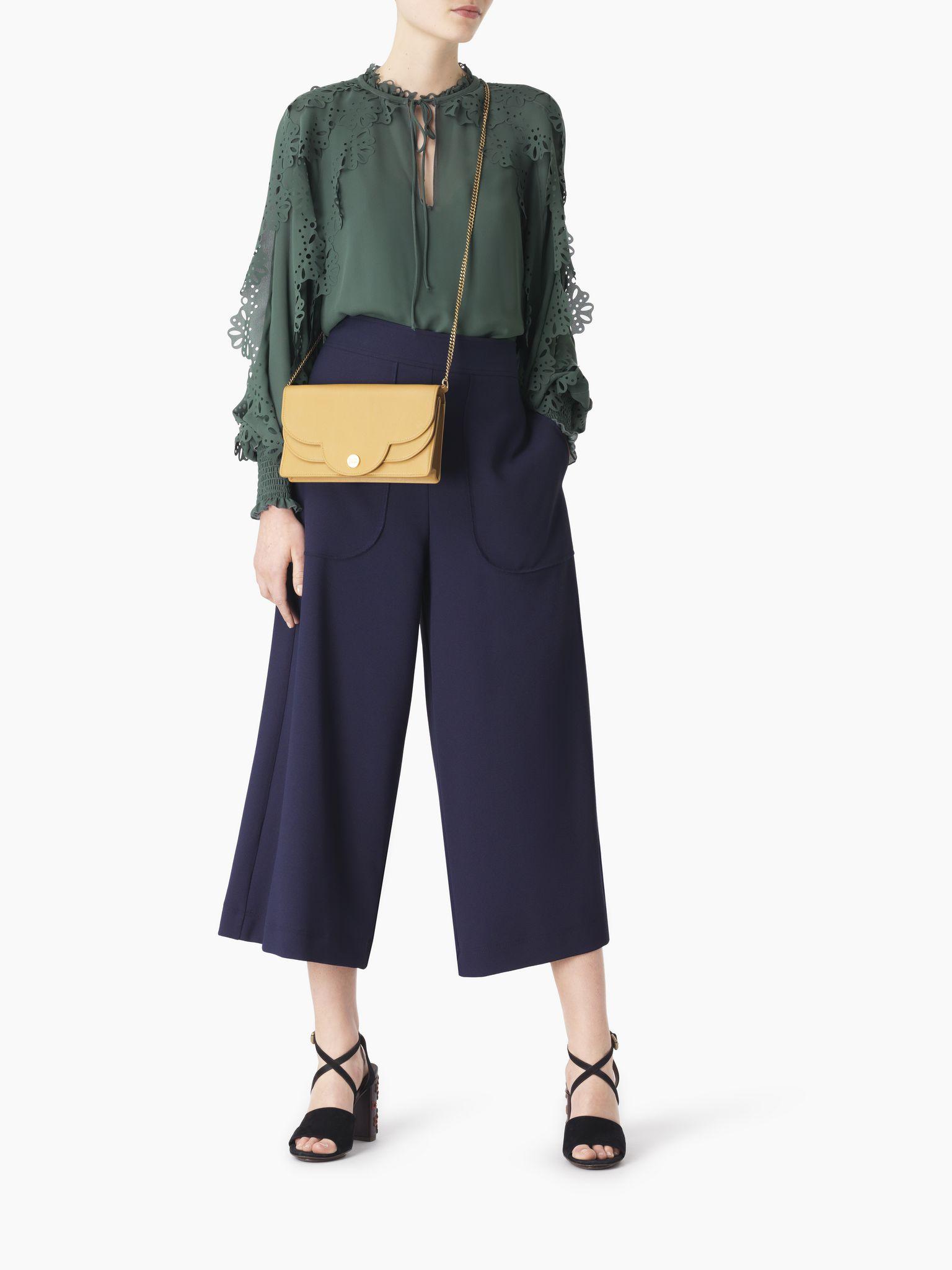 chloe polina leather wallet bag