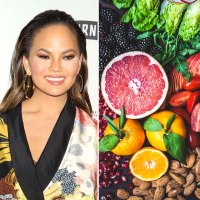 Chrissy Teigen and produce