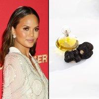Chrissy Teigen and truffle oil