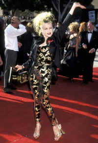 Cyndi Lauper Emmy Awards Wackiest Dresses
