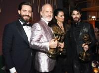 Edgar Ramirez Ryan Murphy Penelope Cruz Darren Criss Emmys 2018 Afterparties