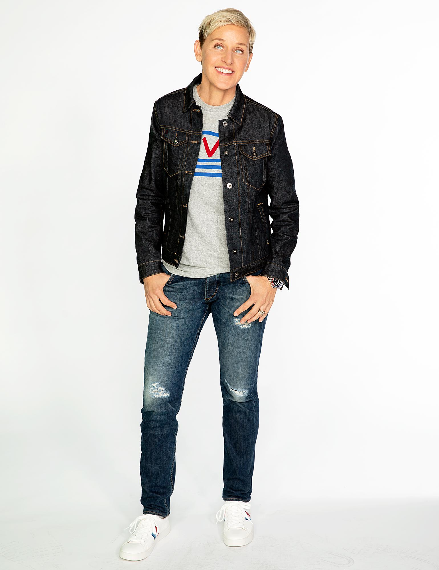 Ellen DeGeneres Fashion Designer