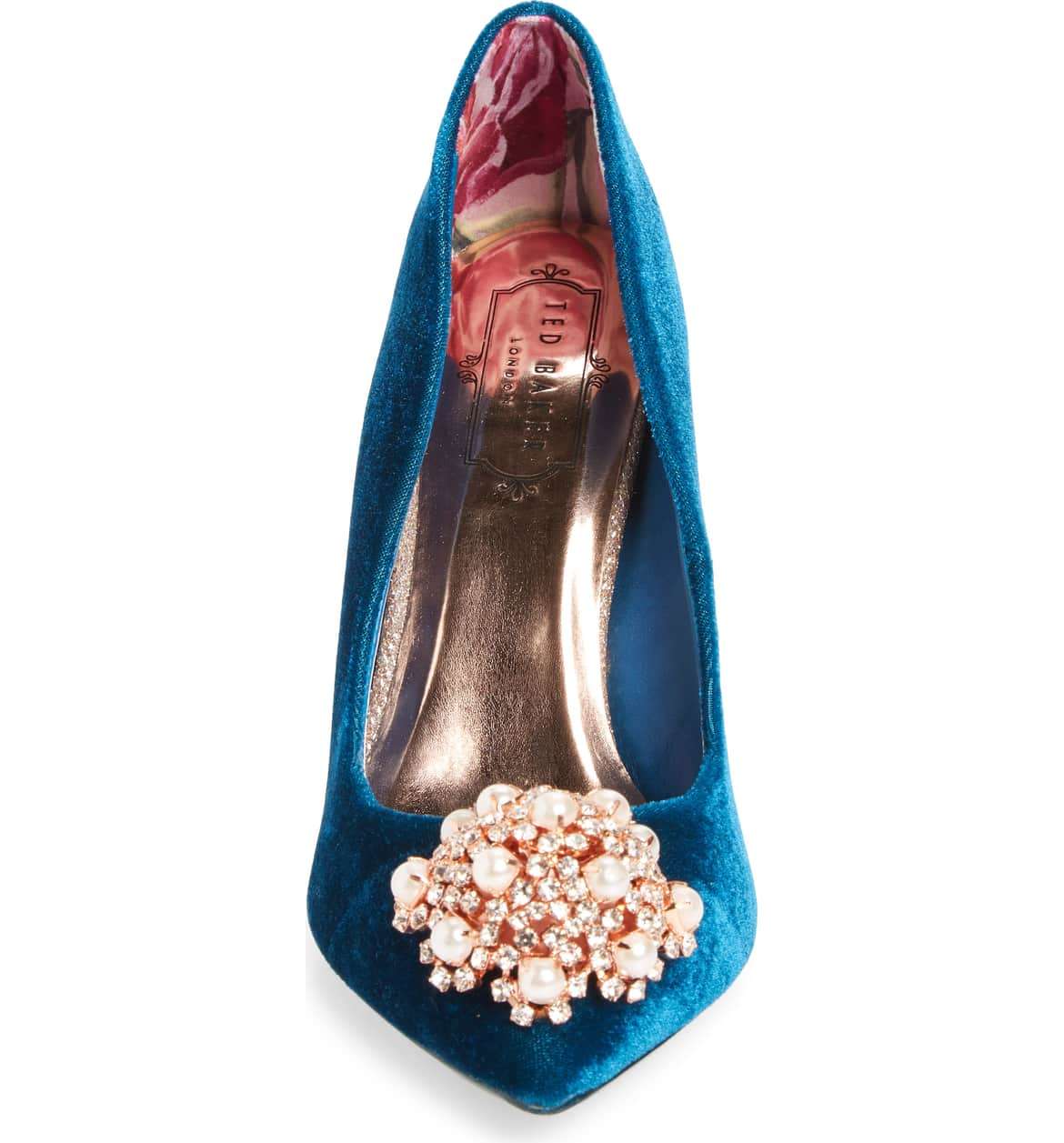 floral print inside ted baker heel