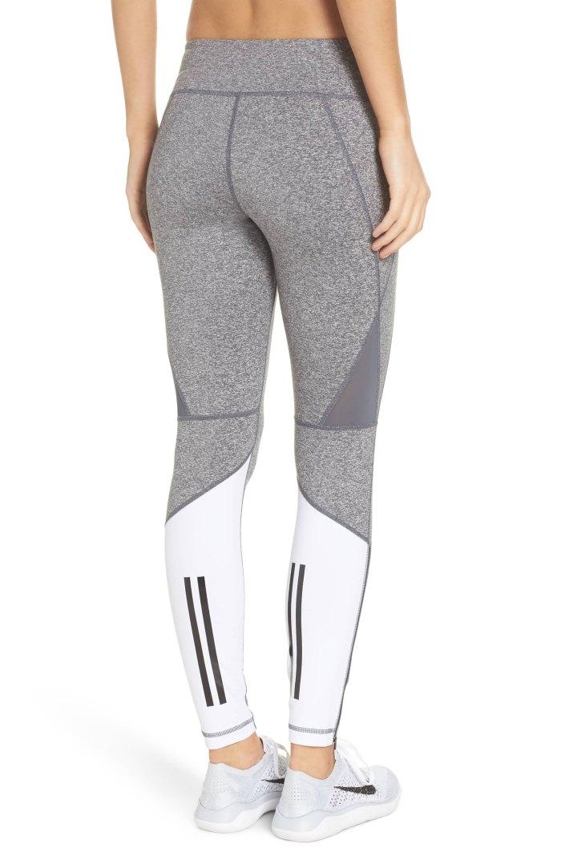 gray white leggings zella