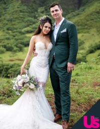 Janel Parrish Chris Long Wedding