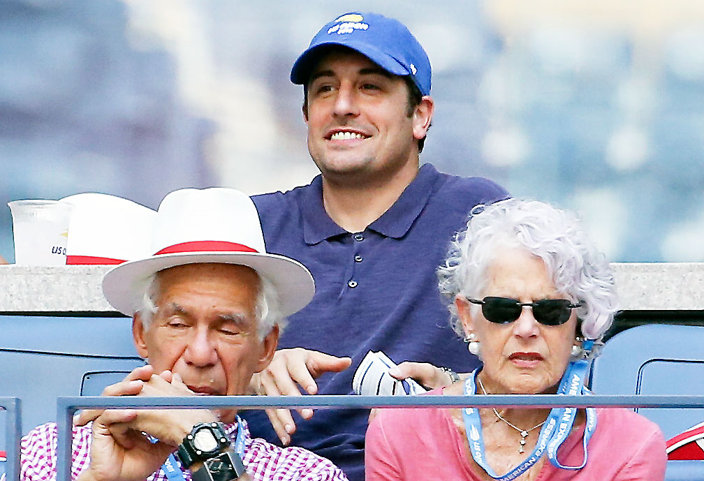 Jason Biggs Us Open 2018 - Biggs grinned and blended in with fans on August 29.