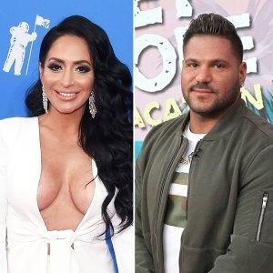 Angelina Pivarnick and Ronnie Ortiz-Magro