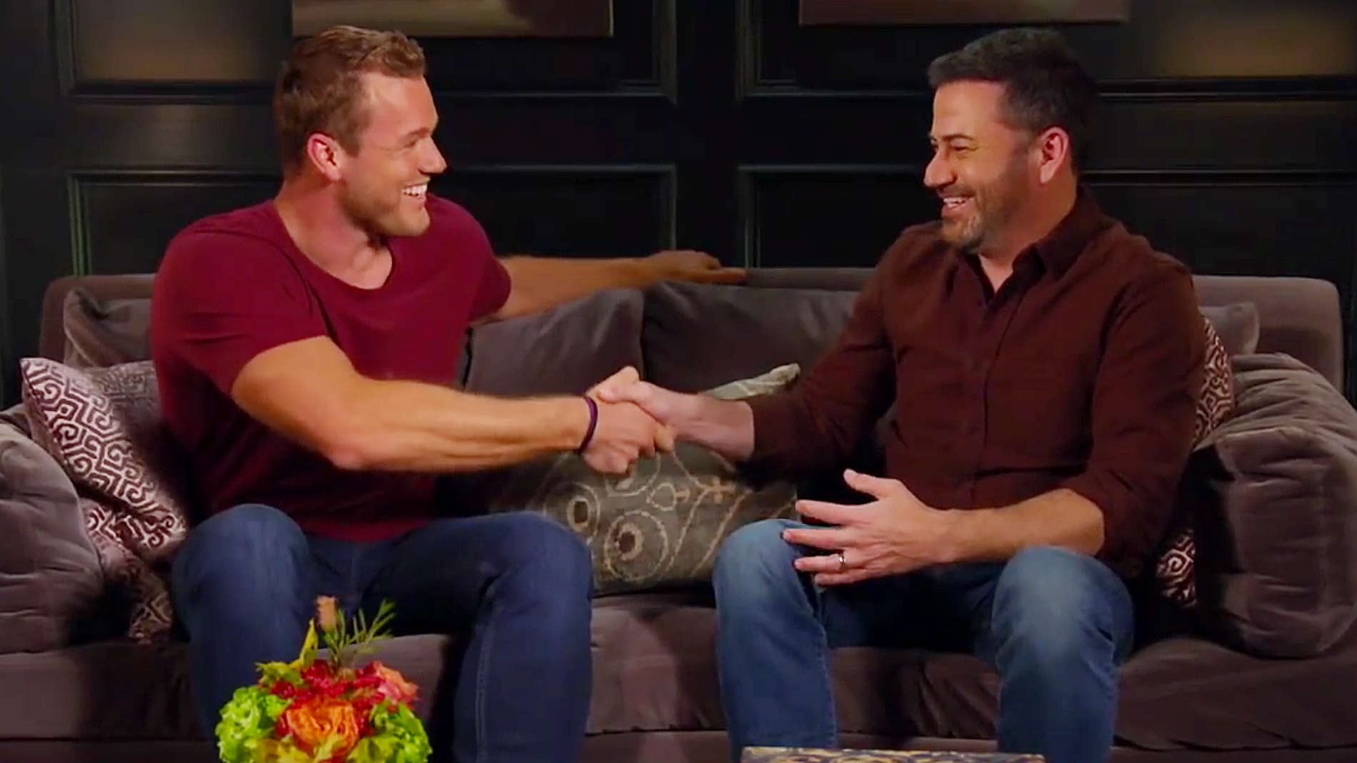 Jimmy Kimmel Teaches Colton Underwood Birds And Bees