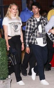 Joe and Nick Jonas Took TheirFiancées Sophie Turnerand Priyanka Chopraon a StylishDouble Date