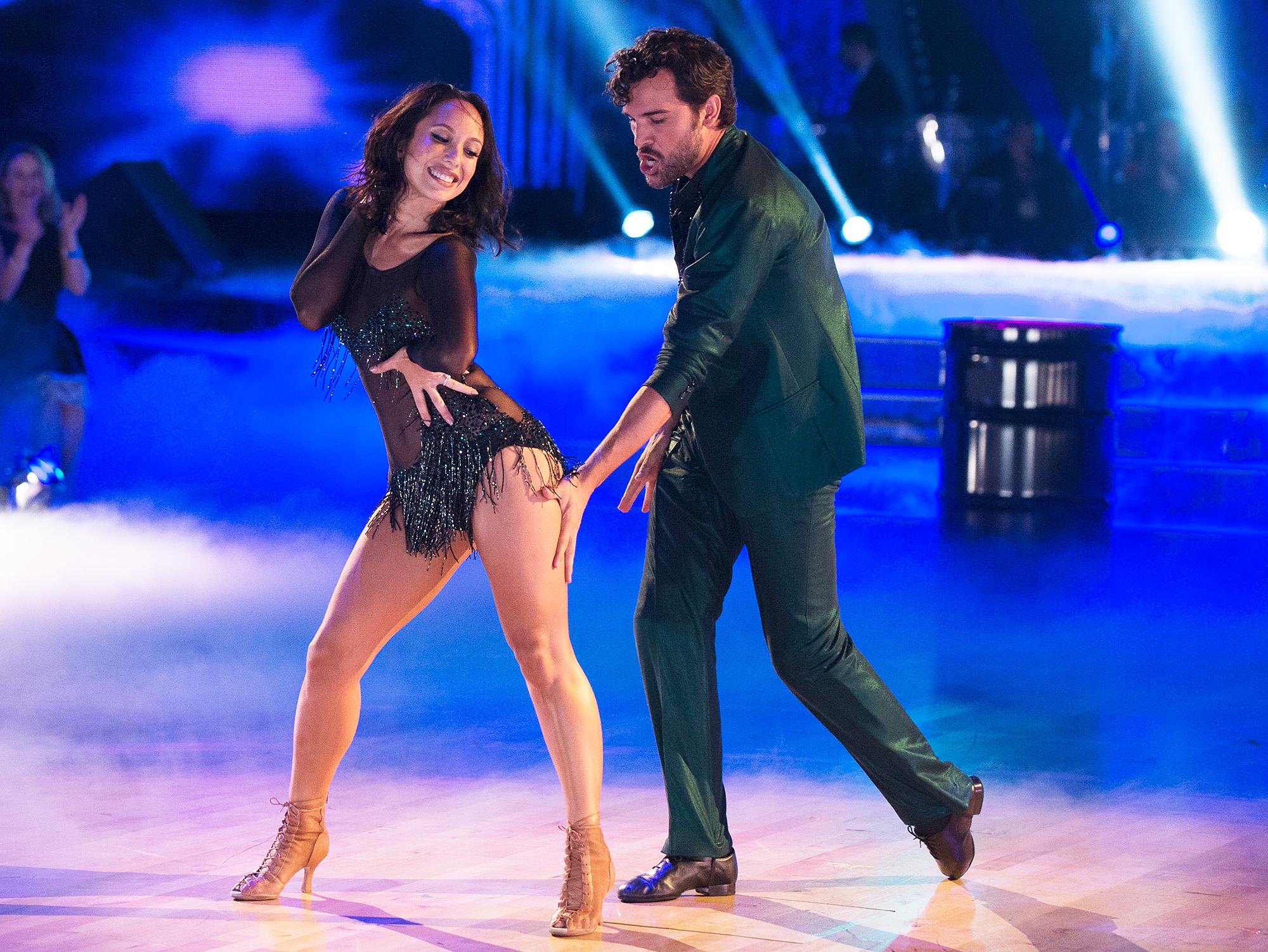 Cheryl Burke Juan Pablo Di Pace Dancing With The Stars - Cheryl Burke and Juan Pablo Di Pace on 'Dancing With The Stars.