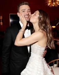 Justin Timberlake Jessica Biel Emmys 2018 PDA