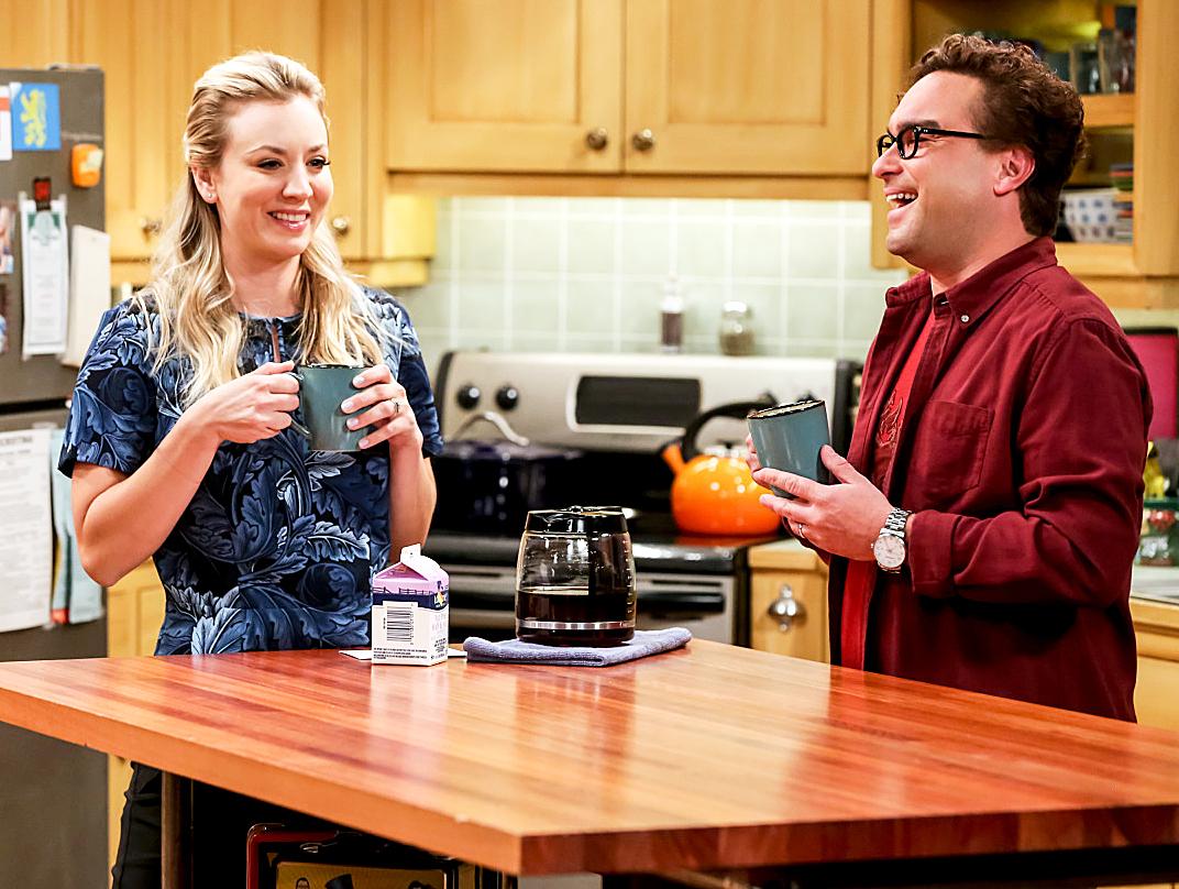 Kaley Cuoco Johnny Galecki The Big Bang Theory