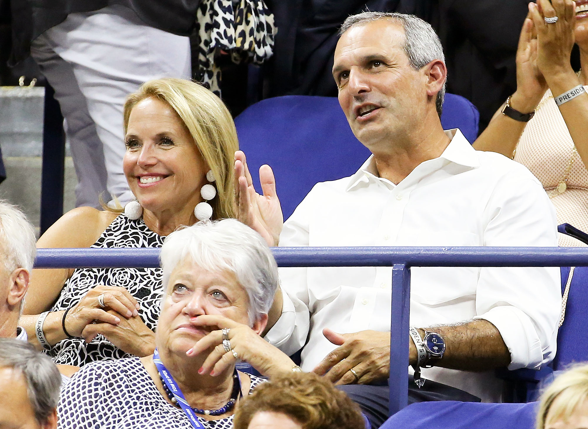 Katie Couric John Molner Us Open 2018 - The journalist and her husband were all smiles on August 27.