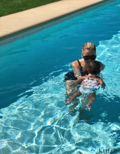 Khloe Kardashian Gushes Over Baby True's First Swim Lesson, Looks Happy in Vacation Photos With Tristan Thompson