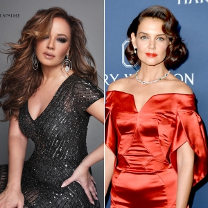 Leah Remini and Katie Holmes