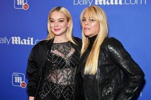 Lindsay Lohan Dina Lohan