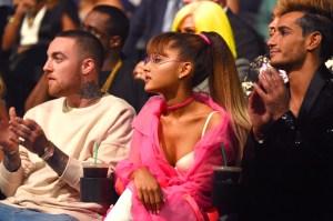 Mac Miller, Ariana Grande and Frankie Grande