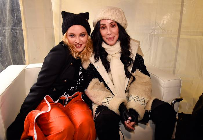 Madonna and Cher