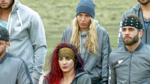 Marie, Cara, and Brad on The Challenge