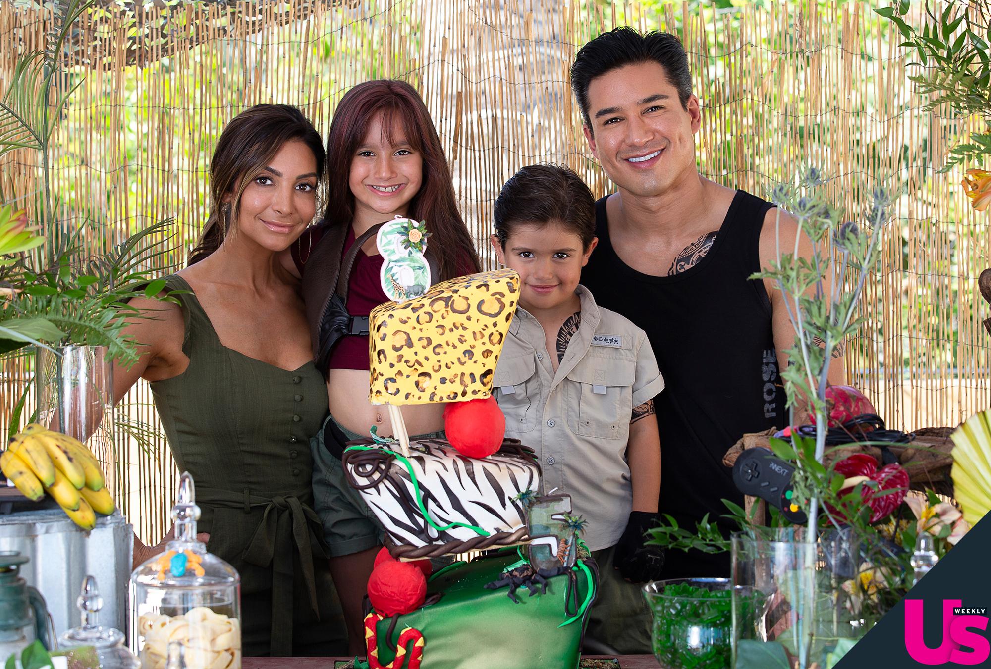 Mario Lopez Threw A Kids Birthday With A Bartender