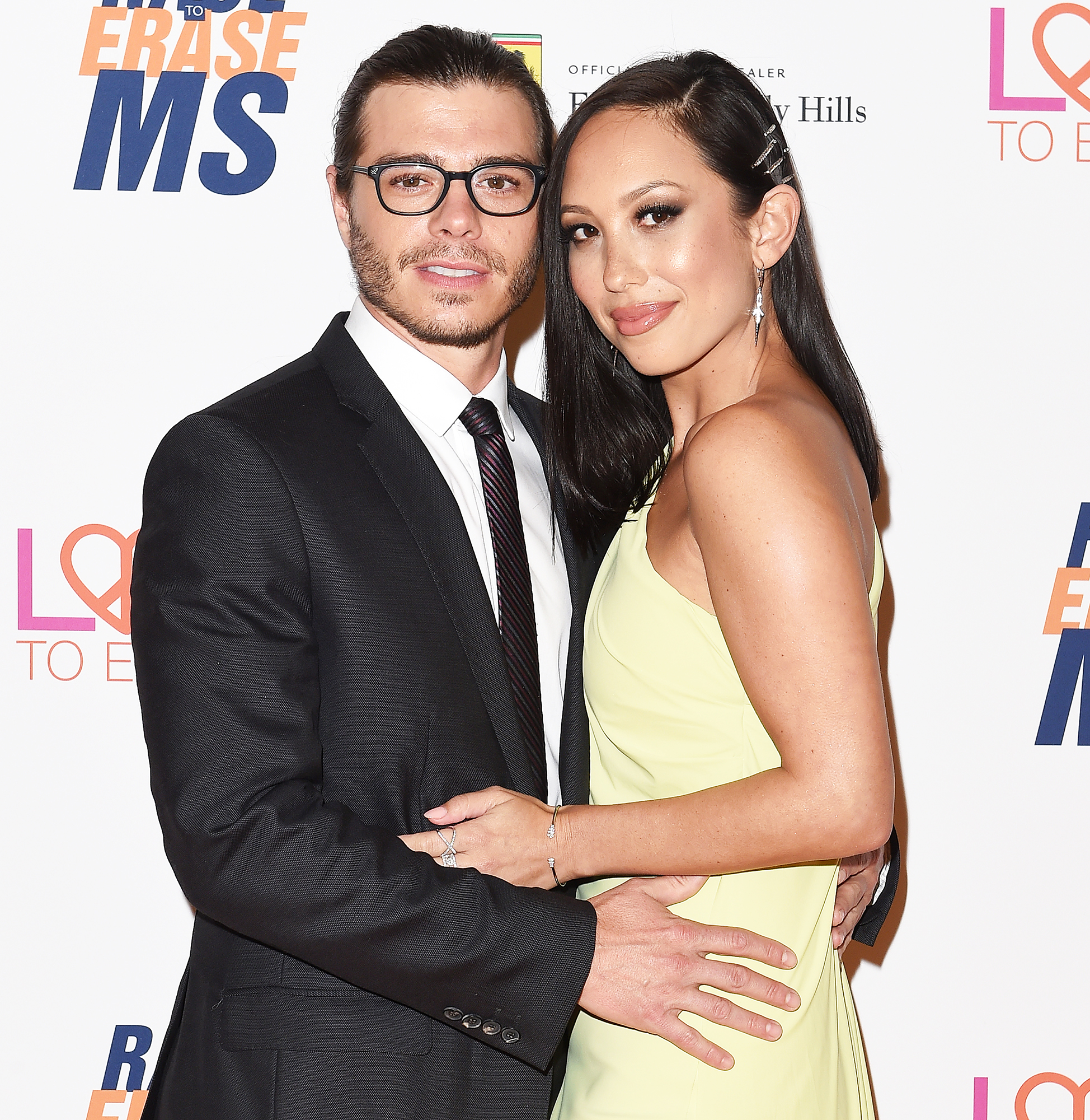 Matthew Lawrence Cheryl Burke Want Kids - Matthew Lawrence and Cheryl Burke arrive at the 25th Annual Race to Erase MS Gala at The Beverly Hilton Hotel on April 20, 2018 in Beverly Hills, California.