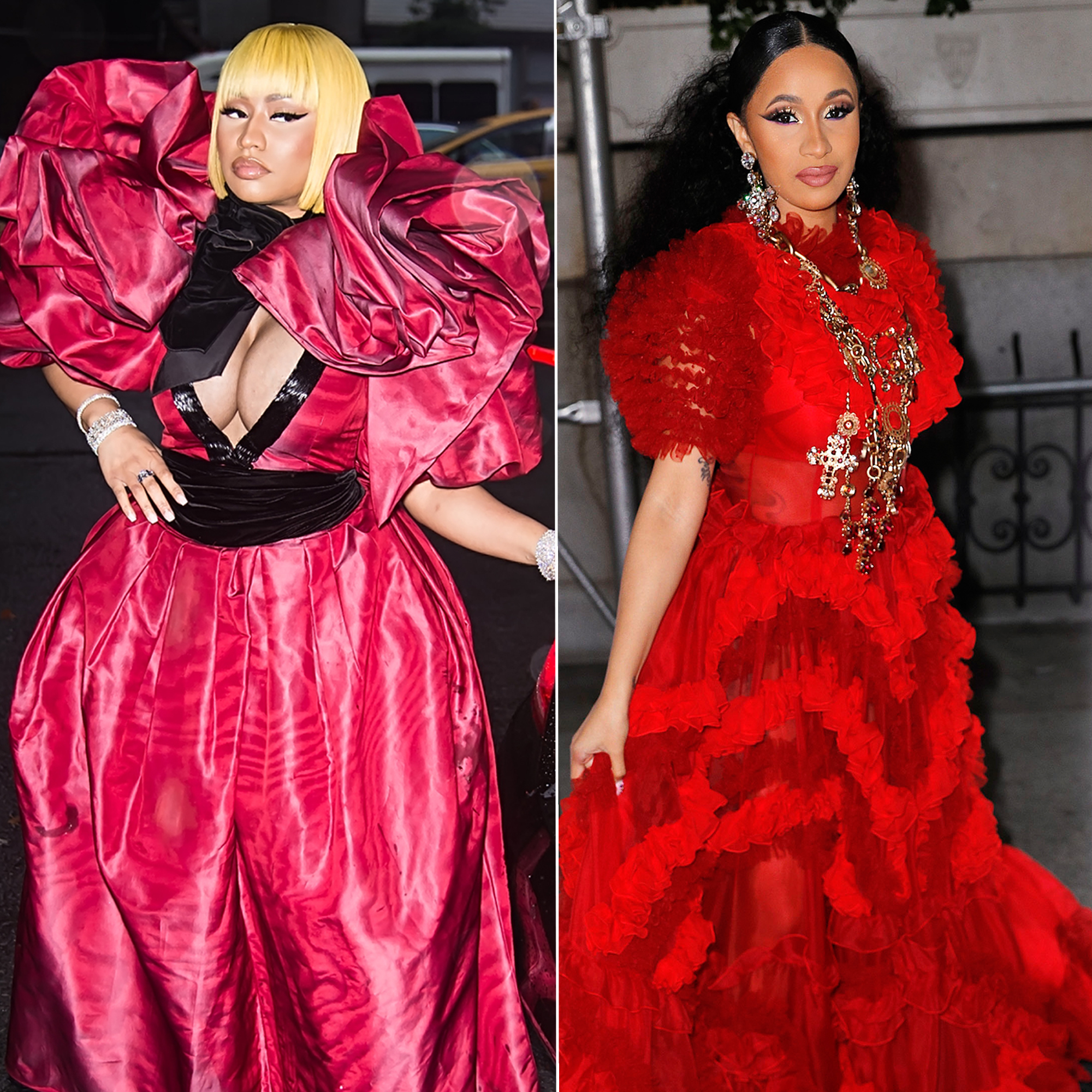 0f1d20baedaf8f Nicki Minaj or Cardi B? Stars Pick Who Has Better Style at Us Weekly's Most  Stylish Event