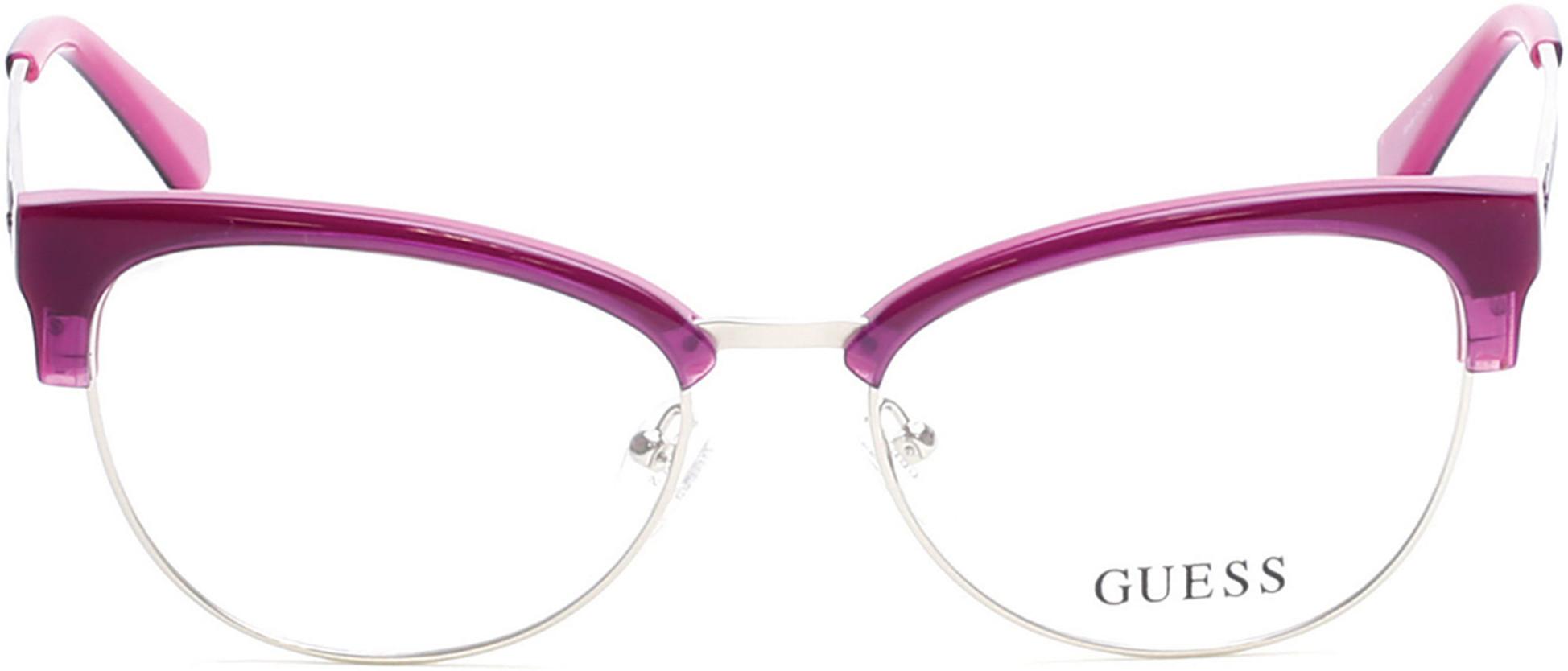 pink guess glasses prescription designer