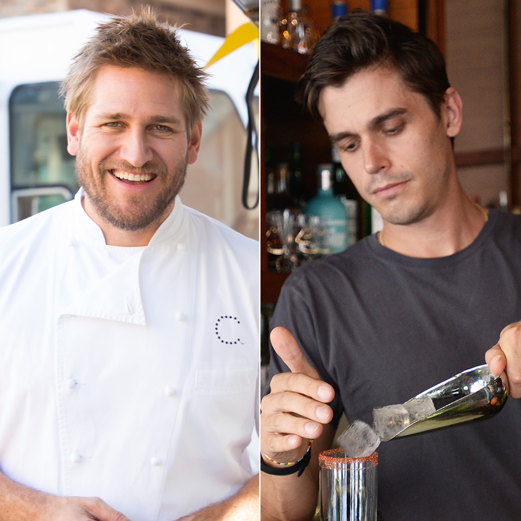 Hottest Male Chefs: Curtis Stone, Antoni Porowski and More - Curtis Stone and Antoni Porowski.