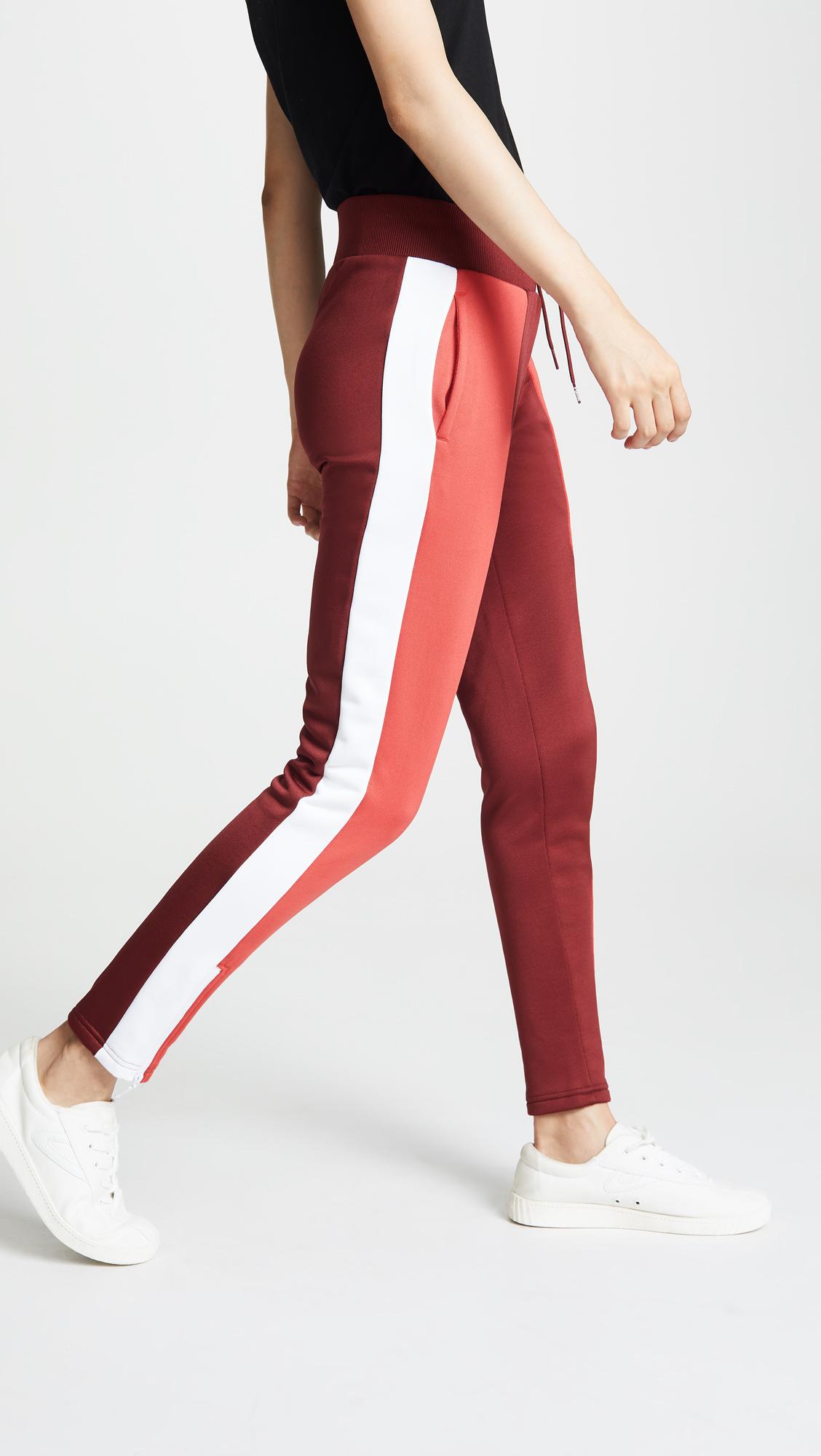 puma track pants color block sale shop bop