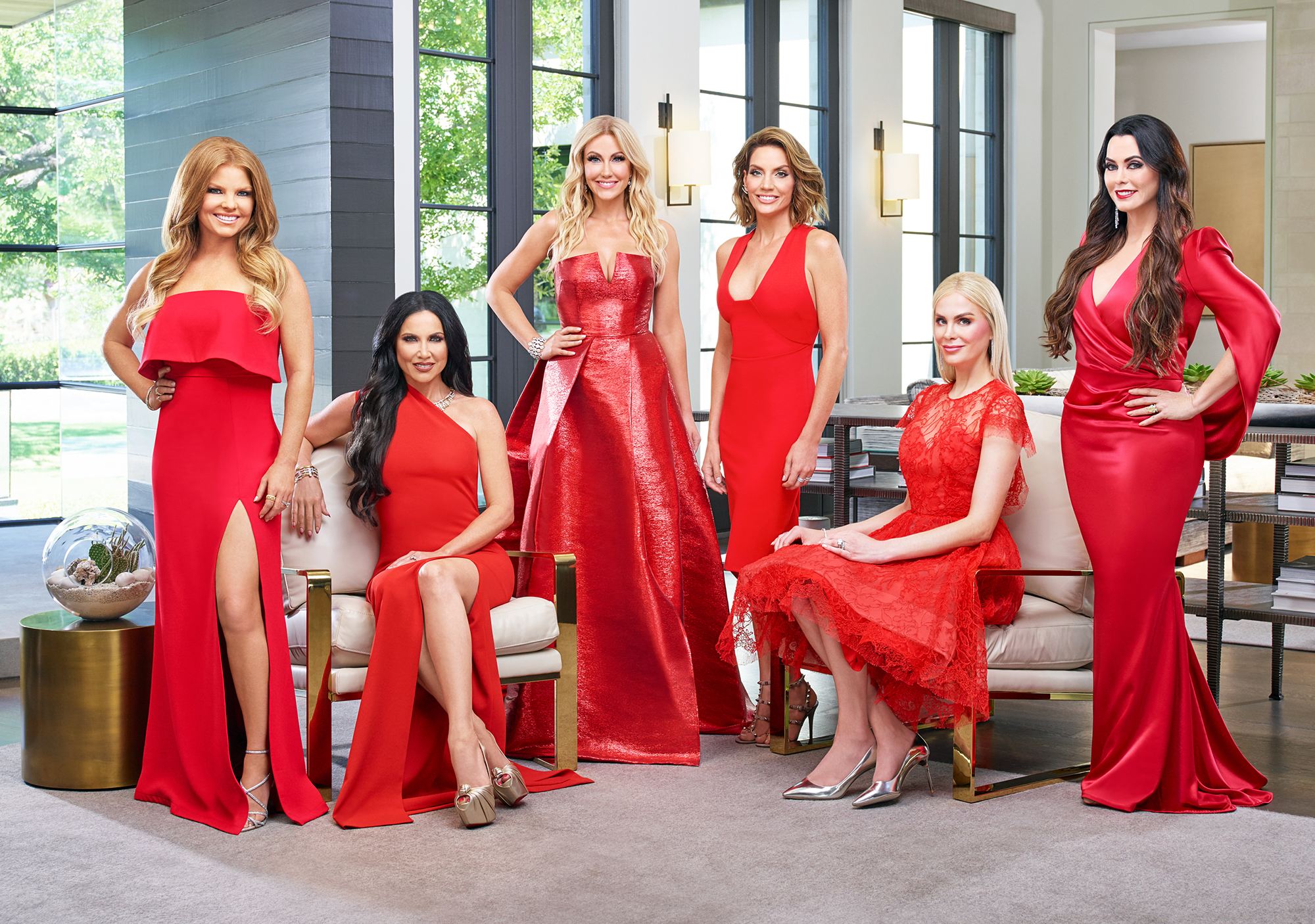 The Real Housewives of Dallas Cast LeeAnne Locken D'Andra Simmons Feud