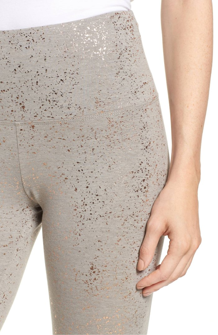 Shop These Rose Gold Control Top Leggings From Nordstrom