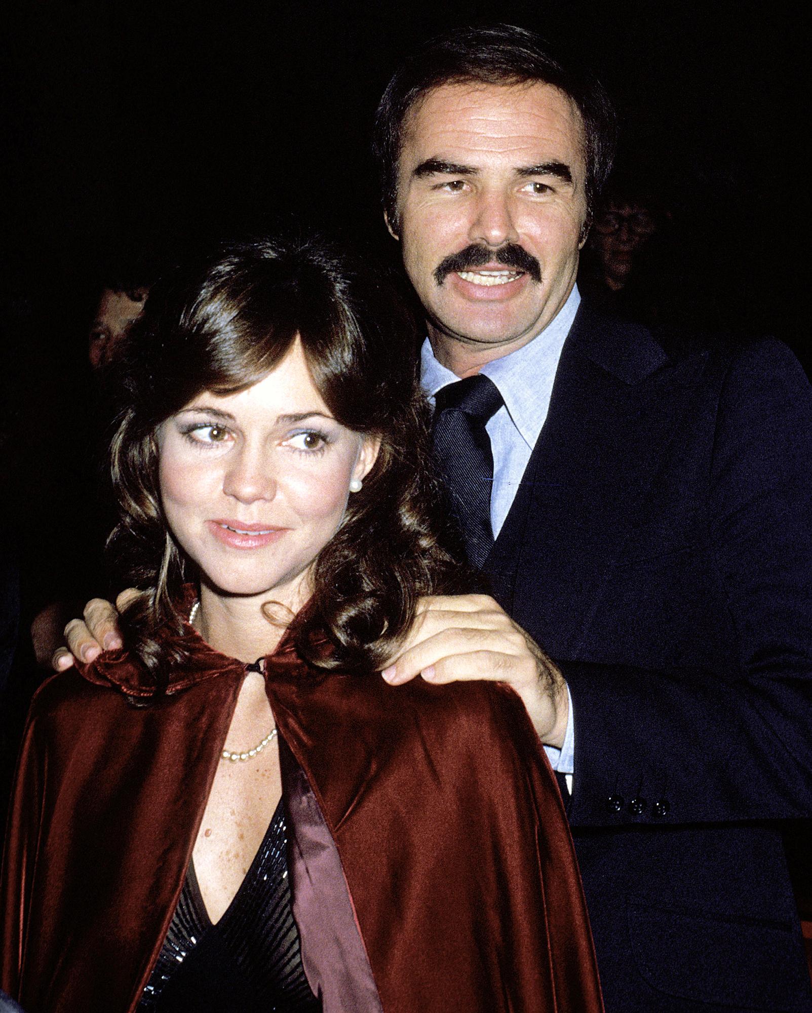 Sally Field Reacts Burt Reynolds Dead