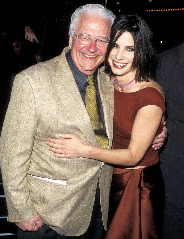Sandra Bullock Dad John Bullock Dead