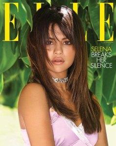 Selena Gomez on Elle's October 2018 cover.