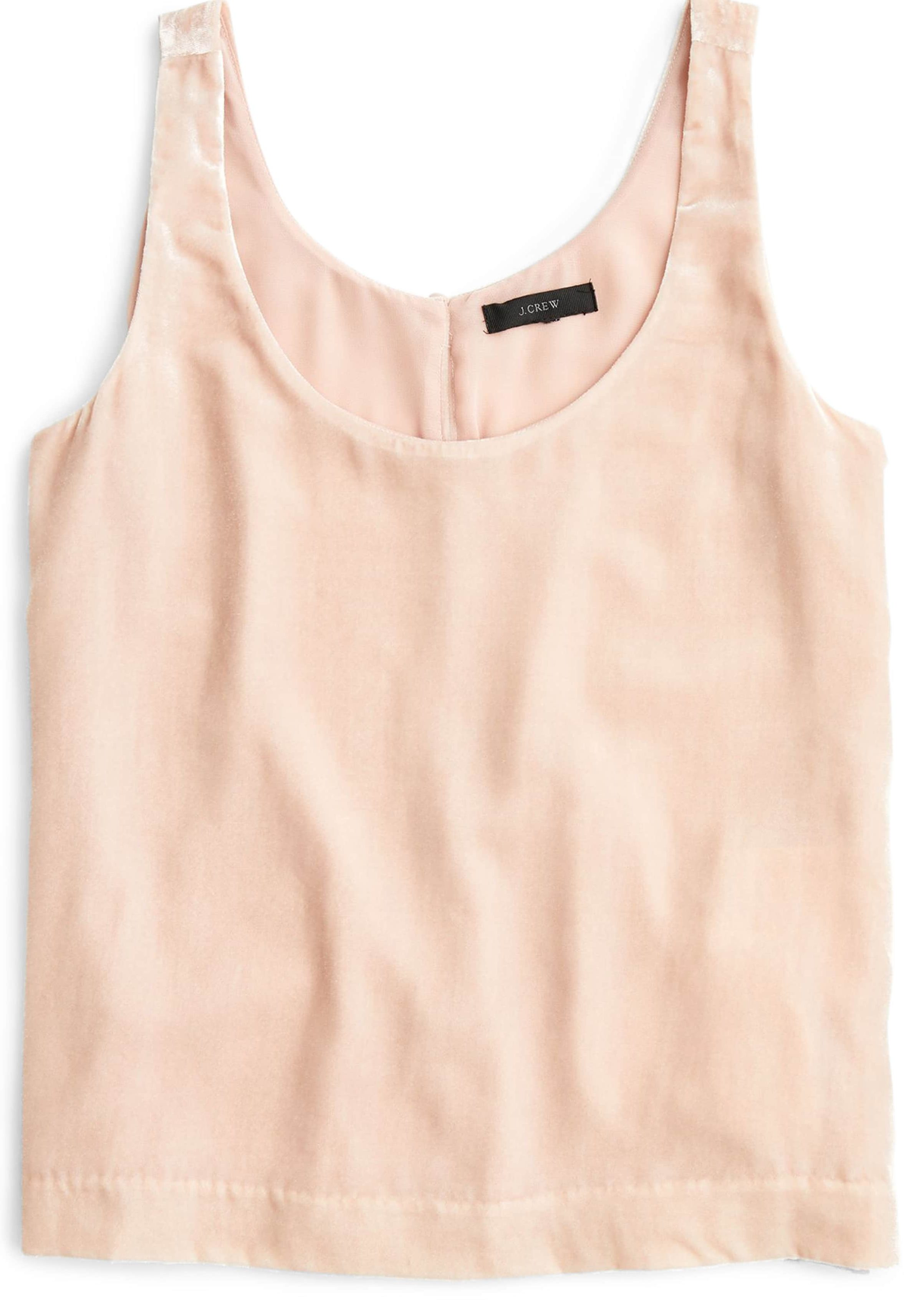 54a93b944cf9cd Shop This J.Crew Velvet Tank Top in Several Colors for Fall