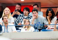 Sophie Turner Joe Jonas Nick Jonas Priyanka Chopra Us Open 2018