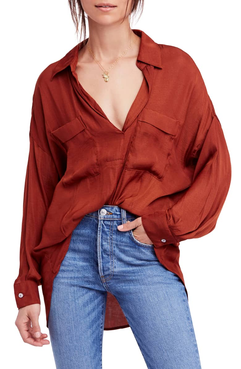 starry eyed blouse free people nordstrom