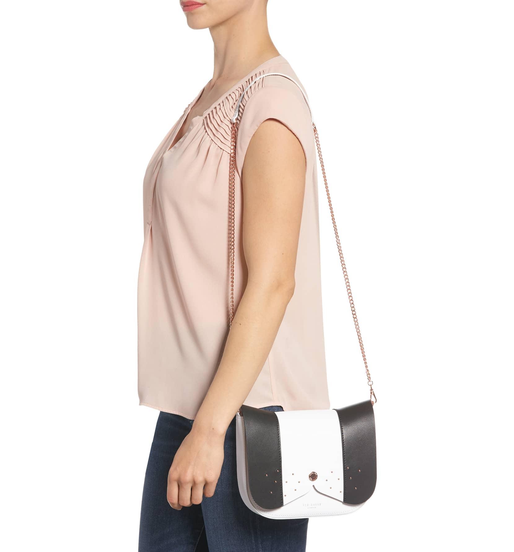 ted baker cross body bag on model