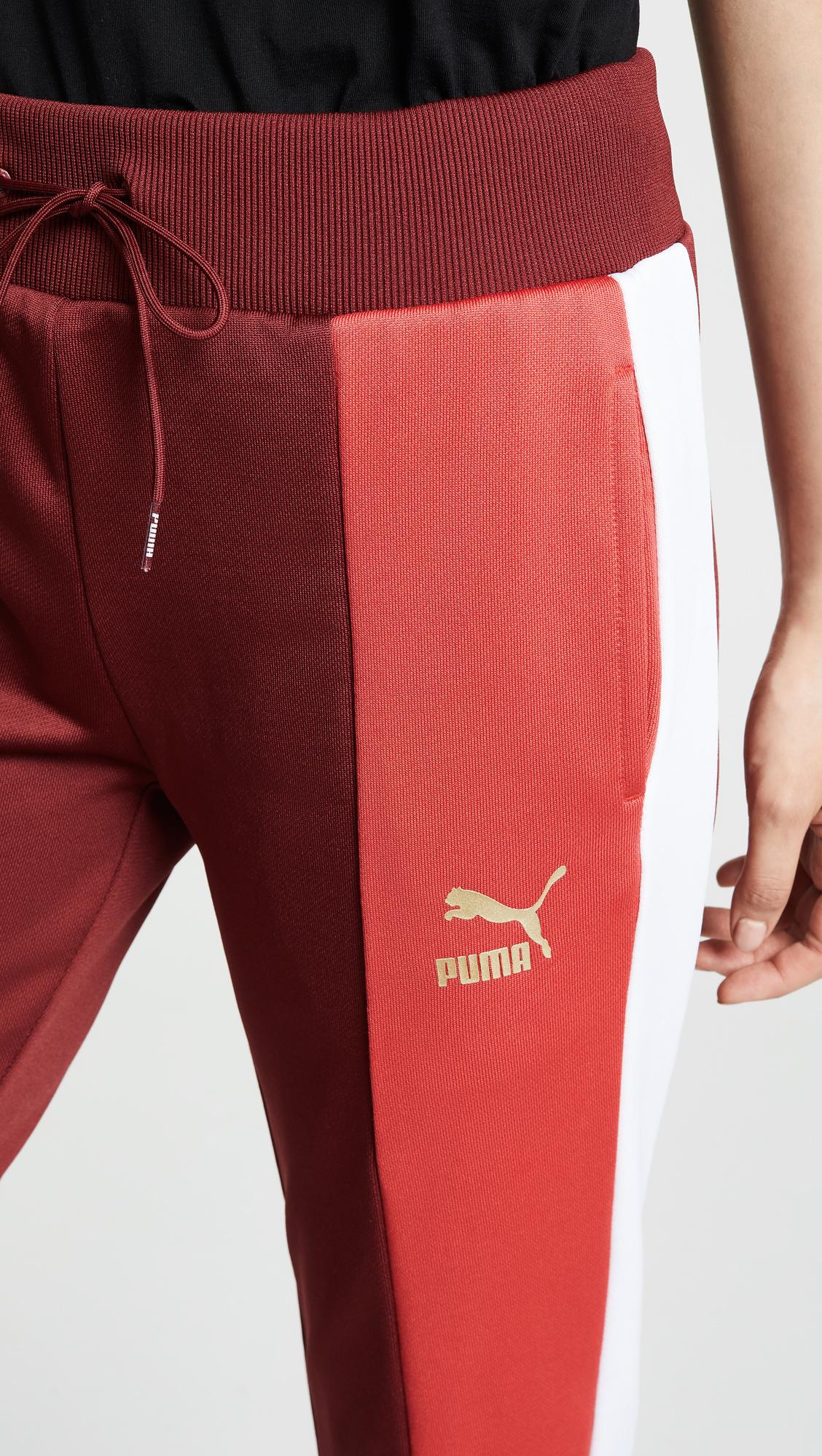 puma track pants sale shop bop color block