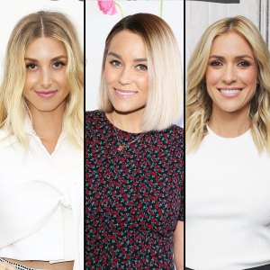 Whitney Port, Lauren Conrad, and Kristen Cavallari the hills